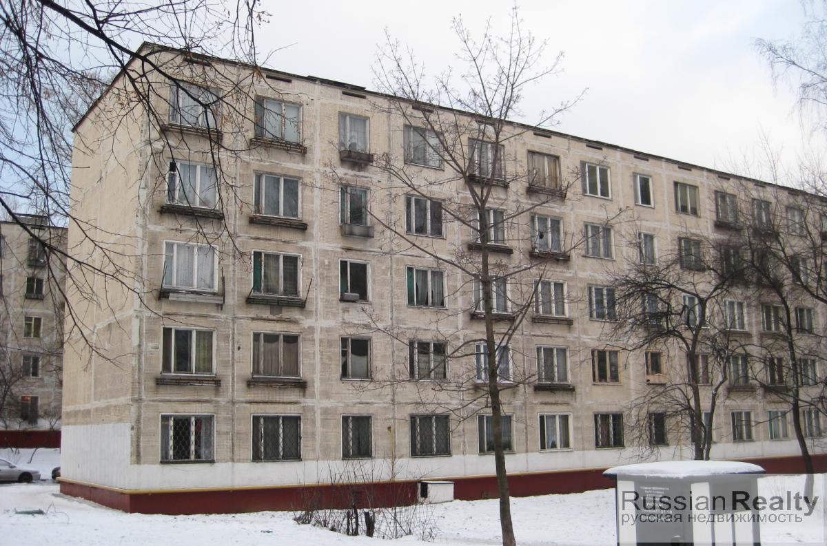 Пятиэтажки без балконов.