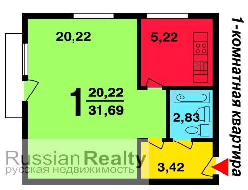 Серия дома 1-510 russianrealty.