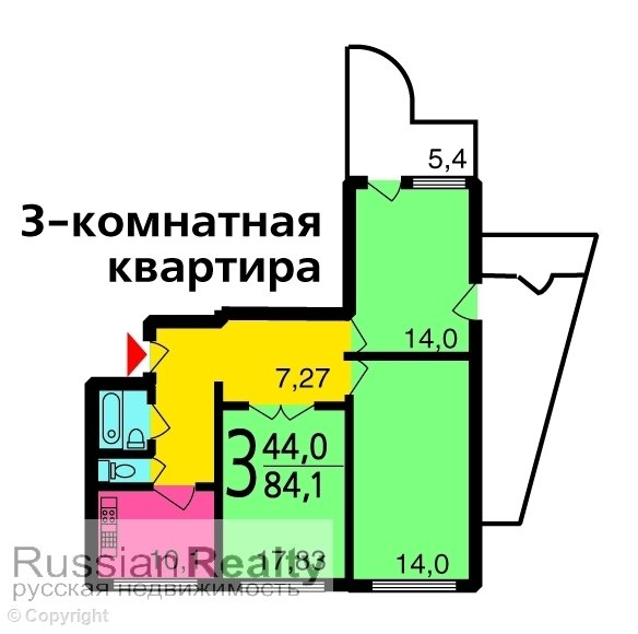 Серия дома п-3м russianrealty.