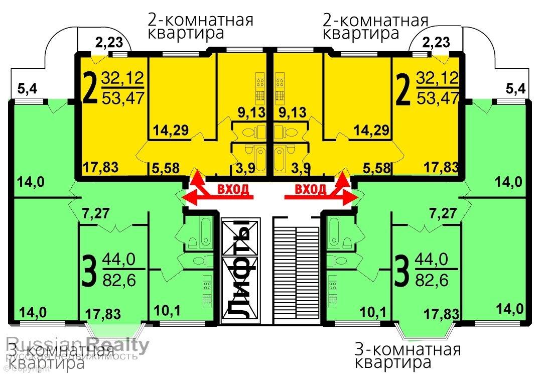 Серия дома п-3м russianrealty.